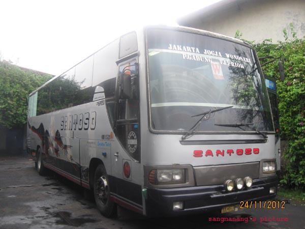 Santoso, Bus Malam Cepat Kepercayaan Warga Magelang